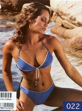 Costume da bagno bikini 2 pezzi donna con ferretto scamosciato made in  Italy AMAREA 022 2bcd7c4df06