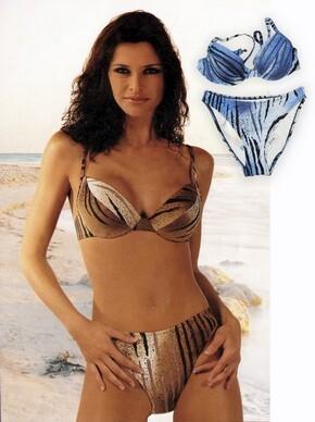 a492c8a1c5ca Costume da bagno bikini 2 pezzi donna con coppa ferretto made in Italy  AMAREA 3115