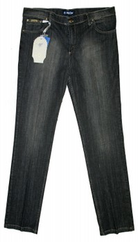 JEANS DONNA TAGLIE FORTI MADE IN ITALY MARCHIO DONE & ROSE B923