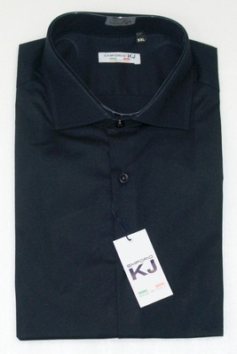 Camicia uomo manica lunga collo francese slim fit  EMPORIO KJ 740 tg. XXL collo 43