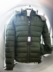 Giubbino uomo trapuntato invernale made in Italy GETTING BACK 7656
