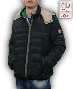 Giubbino uomo trapuntato invernale made in Italy GETTING BACK 7685