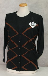 Completo maglia donna twin set invernale in lana made in Italy HARMONY 705/4