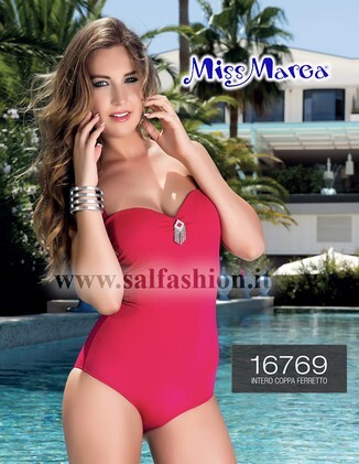 82840d08e535 Costume intero donna mare piscina coppa ferretto MISS MAREA by AMAREA 769