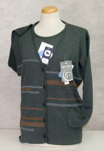 Completo maglia donna twin set invernale in lana made in Italy LADY LIKE 061
