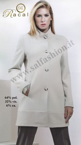 Cappotto giacca in tessuto invernale made in Italy RACAL Maryland