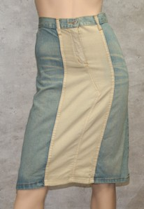 GONNA JEANS LEGGERA DONNA MADE IN ITALY SWING JEANS C104/01