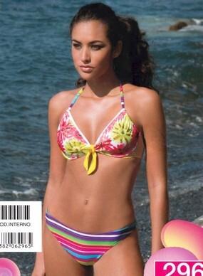 Costume da bagno bikini 2 pezzi donna con ferretto made in Italy AMAREA 296  TG. 42 2f68486859c